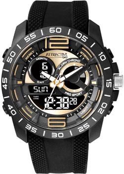 Японские наручные мужские часы Q&Q DE11J502. Коллекция Attractive