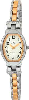 Японские наручные  женские часы Q&Q F149414. Коллекция Elegant