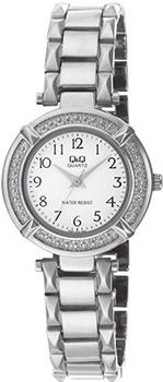 Японские наручные  женские часы Q&Q F281204. Коллекция Elegant