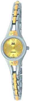 Японские наручные  женские часы Q&Q F311403. Коллекция Elegant