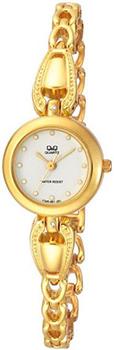 Японские наручные  женские часы Q&Q F325001. Коллекция Elegant