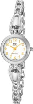 Японские наручные  женские часы Q&Q F325204. Коллекция Elegant