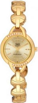 Японские наручные  женские часы Q&Q F337010. Коллекция Elegant