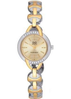 Японские наручные  женские часы Q&Q F337400. Коллекция Elegant