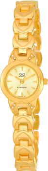 Японские наручные  женские часы Q&Q F353010. Коллекция Elegant