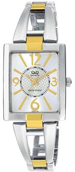 Японские наручные  женские часы Q&Q F355J404. Коллекция Elegant