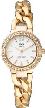 Японские наручные  женские часы Q&Q F503001. Коллекция Elegant