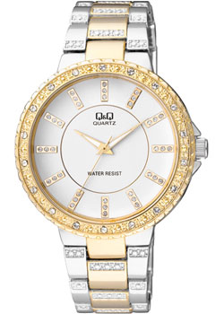 Японские наручные  женские часы Q&Q F507401. Коллекция Кварцевые