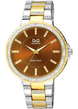Японские наручные  женские часы Q&Q F507402. Коллекция Elegant