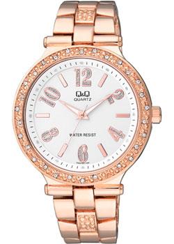 Японские наручные  женские часы Q&Q F509004. Коллекция Кварцевые