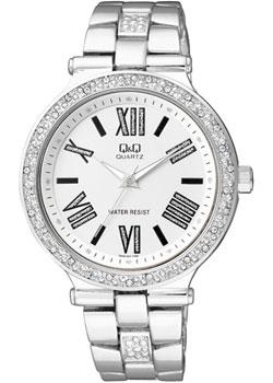 Японские наручные  женские часы Q&Q F509207. Коллекция Кварцевые