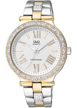 Японские наручные  женские часы Q&Q F509407. Коллекция Кварцевые