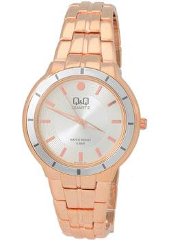 Японские наручные  женские часы QQ F515001. Коллекция Кварцевые.