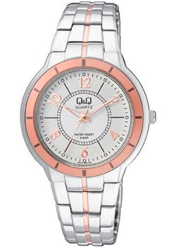 Японские наручные  женские часы Q&Q F515404. Коллекция Кварцевые