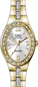 Японские наручные  женские часы Q&Q F517004. Коллекция Elegant