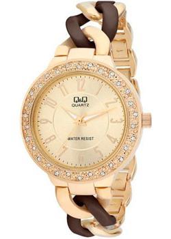 Японские наручные  женские часы Q&Q F519003. Коллекция Elegant