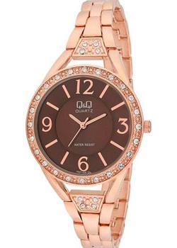 Японские наручные  женские часы Q&Q F527005. Коллекция Elegant