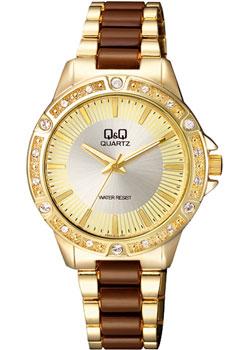 Японские наручные  женские часы Q&Q F533J010. Коллекция Кварцевые