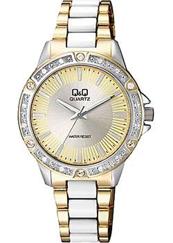 Японские наручные  женские часы Q&Q F533J400. Коллекция Кварцевые