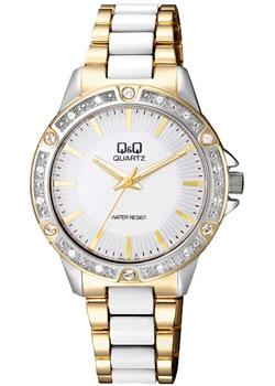 Японские наручные  женские часы Q&Q F533J401. Коллекция Кварцевые