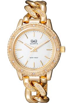 Японские наручные  женские часы Q&Q F535001. Коллекция Кварцевые