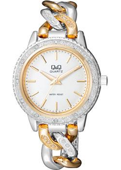 Японские наручные  женские часы Q&Q F535401. Коллекция Кварцевые