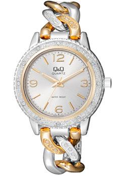 Японские наручные  женские часы Q&Q F535404. Коллекция Кварцевые