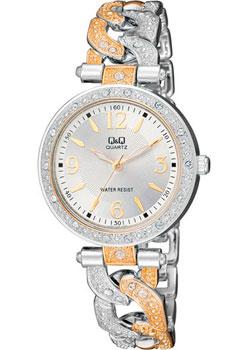 Японские наручные  женские часы Q&Q F539404. Коллекция Кварцевые