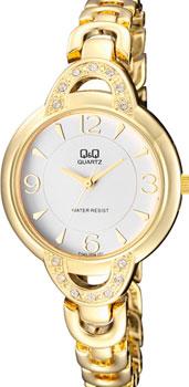 Японские наручные  женские часы Q&Q F545J004. Коллекция Elegant
