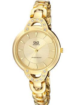 Японские наручные  женские часы Q&Q F545J010. Коллекция Elegant