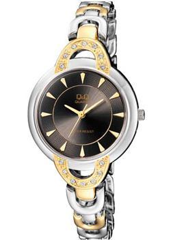 Японские наручные  женские часы Q&Q F545J402. Коллекция Elegant