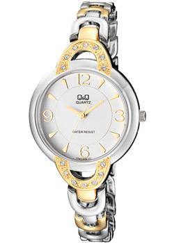 Японские наручные  женские часы Q&Q F545J404. Коллекция Elegant