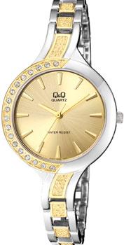 Японские наручные  женские часы Q&Q F551J400. Коллекция Elegant