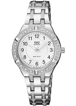 Японские наручные  женские часы Q&Q F557204. Коллекция Кварцевые