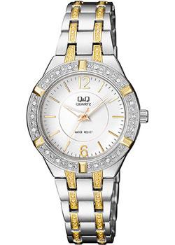 Японские наручные  женские часы Q&Q F557401. Коллекция Elegant