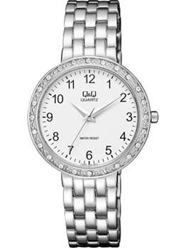 Японские наручные  женские часы Q&Q F559204. Коллекция Elegant