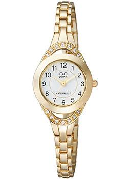 Японские наручные  женские часы Q&Q F581J004. Коллекция Elegant
