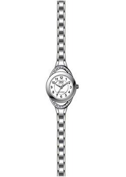 Японские наручные  женские часы Q&Q F581J204. Коллекция Elegant