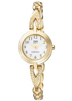 Японские наручные  женские часы Q&Q F589J004. Коллекция Elegant
