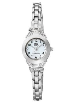 Японские наручные  женские часы Q&Q F615J204. Коллекция Кварцевые