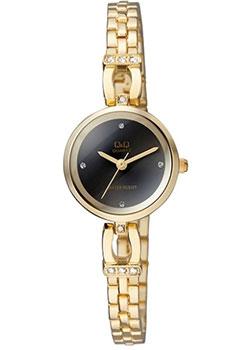Японские наручные  женские часы Q&Q F619J002. Коллекция Elegant