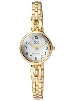Японские наручные  женские часы Q&Q F619J004. Коллекция Elegant