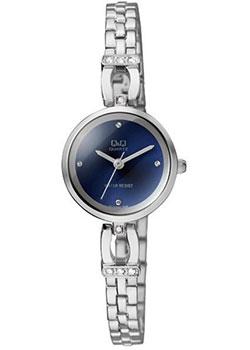 Японские наручные  женские часы Q&Q F619J202. Коллекция Elegant