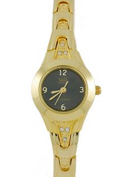 Японские наручные  женские часы Q&Q F623J005. Коллекция Кварцевые