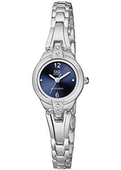 Японские наручные  женские часы Q&Q F625J202. Коллекция Elegant