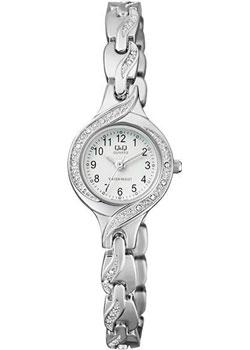 Японские наручные  женские часы Q&Q F633J204. Коллекция Elegant