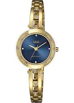 Японские наручные  женские часы QQ F639J002. Коллекция Elegant.