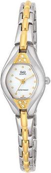 Японские наручные  женские часы Q&Q GT47401. Коллекция Elegant