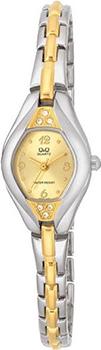 Японские наручные  женские часы Q&Q GT47403. Коллекция Elegant