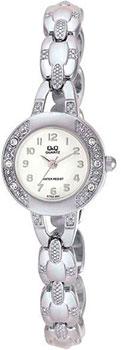 Японские наручные  женские часы Q&Q GT63204. Коллекция Elegant